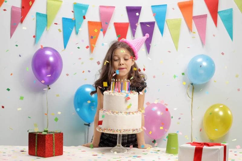 anniversaire décoration fille